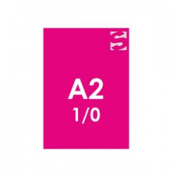 Plakate/Poster auf Neonpapier-Format DIN