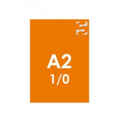 Plakate/Poster im DIN-Format A2-oranges