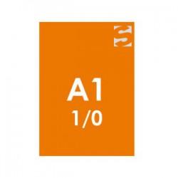 Plakate/Poster im DIN-Format A1-oranges