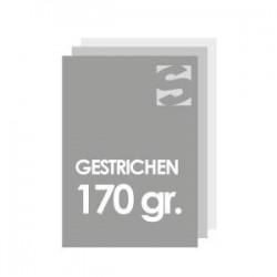 Flyer/Flugblatt format 98x98 papier 170