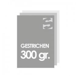 Flyer/flugblatt format 98x98 papier 300