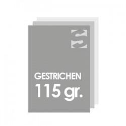 Flyer/Flugblatt format 98x98 papier 115