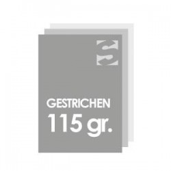 Plakate Format DIN A3-gestrichenes Papie