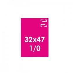 Plakate auf Neonpapier - Format 32x47 -