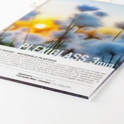 Transparentes Plexiglas 3 mm
