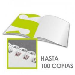 Broschüren 115 gr. Papier – Spiralbindun