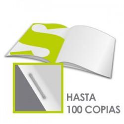 Broschüren 115 gr. Papier- Klammerheftun