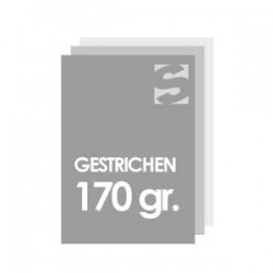 Flyer/Flugblatt DIN-Format a7 papier 170