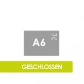 Querformat DIN A6 - Klammerheftung