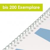 SPIRALBINDUNG BIS 100 EXEMPLARE